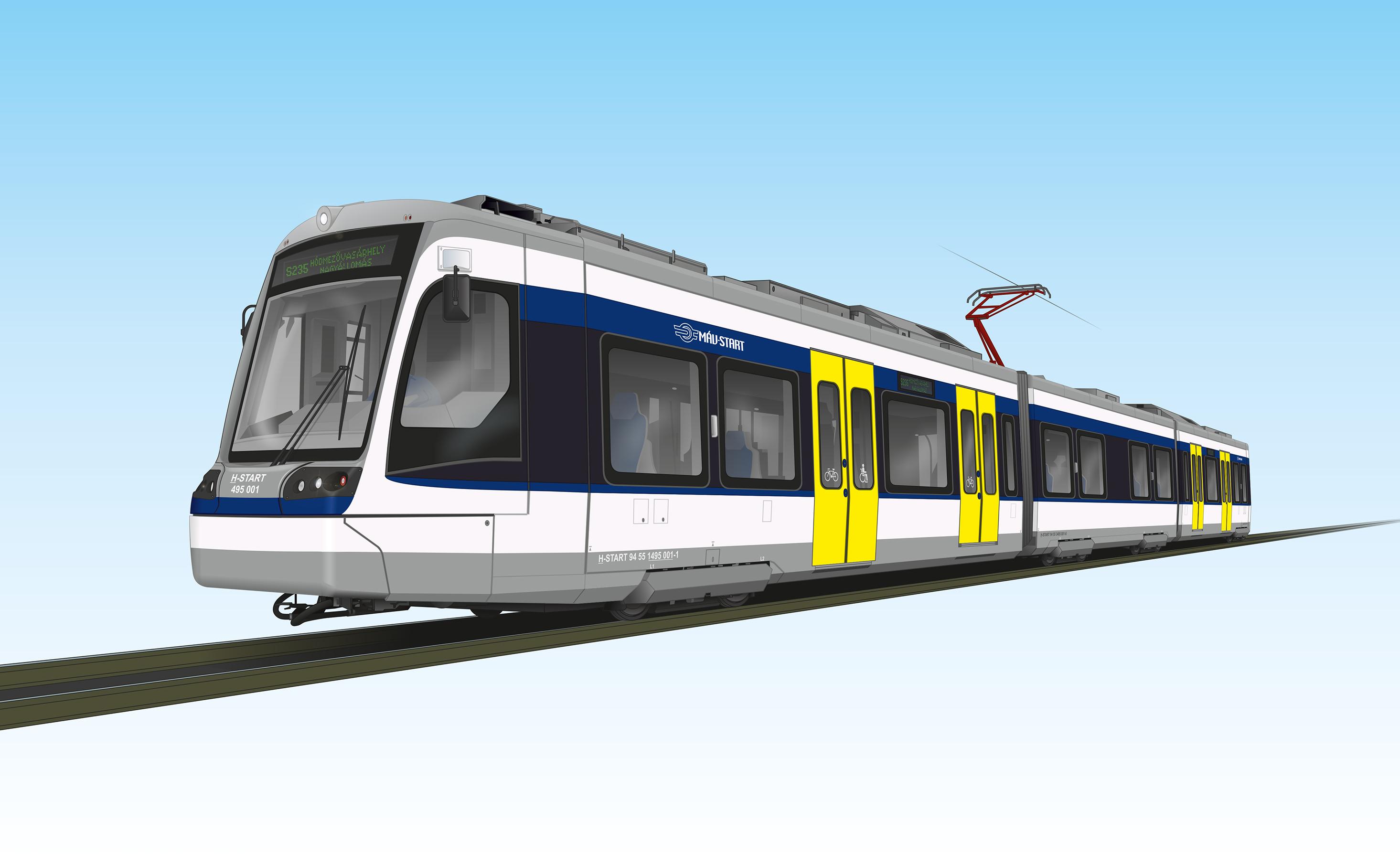 tram train jármű