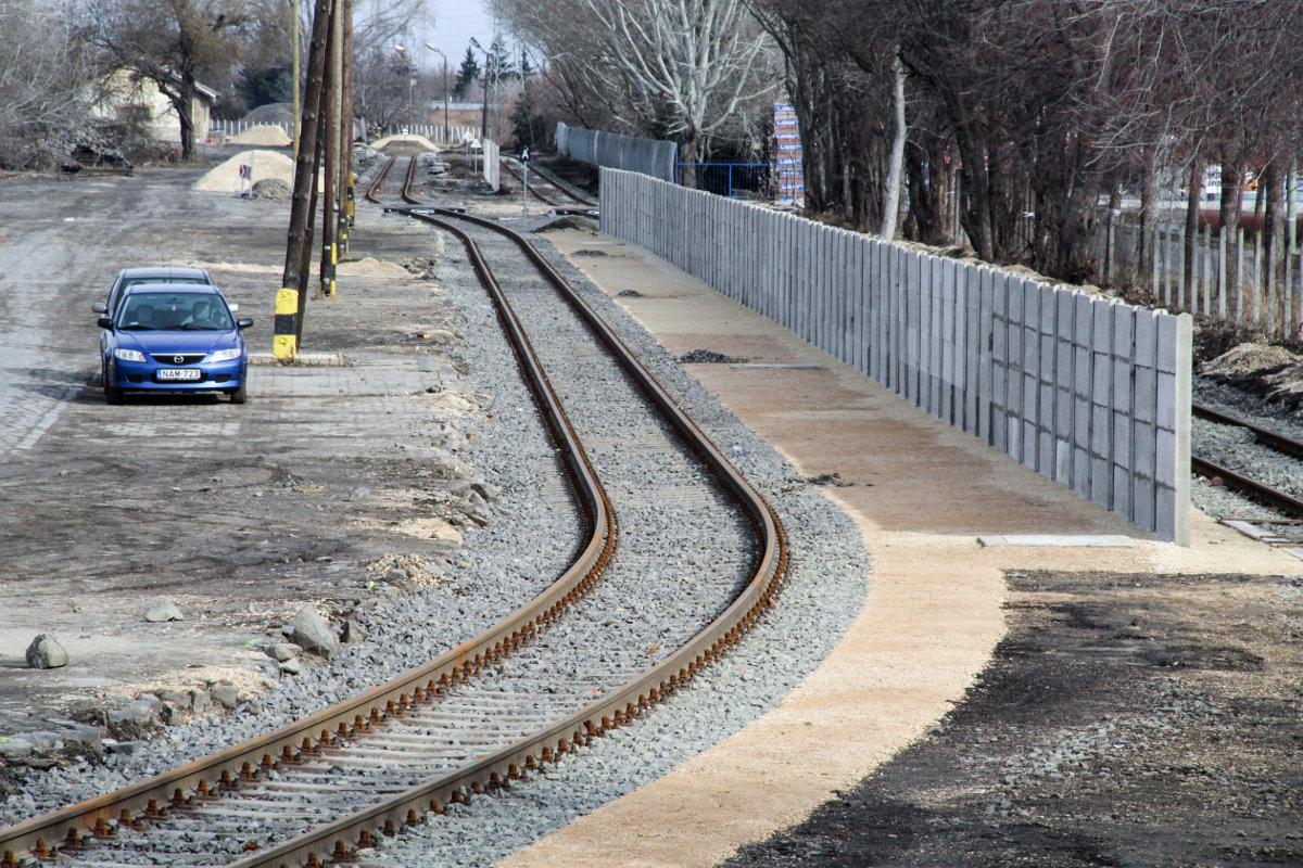 tram-train vasút sín rókus