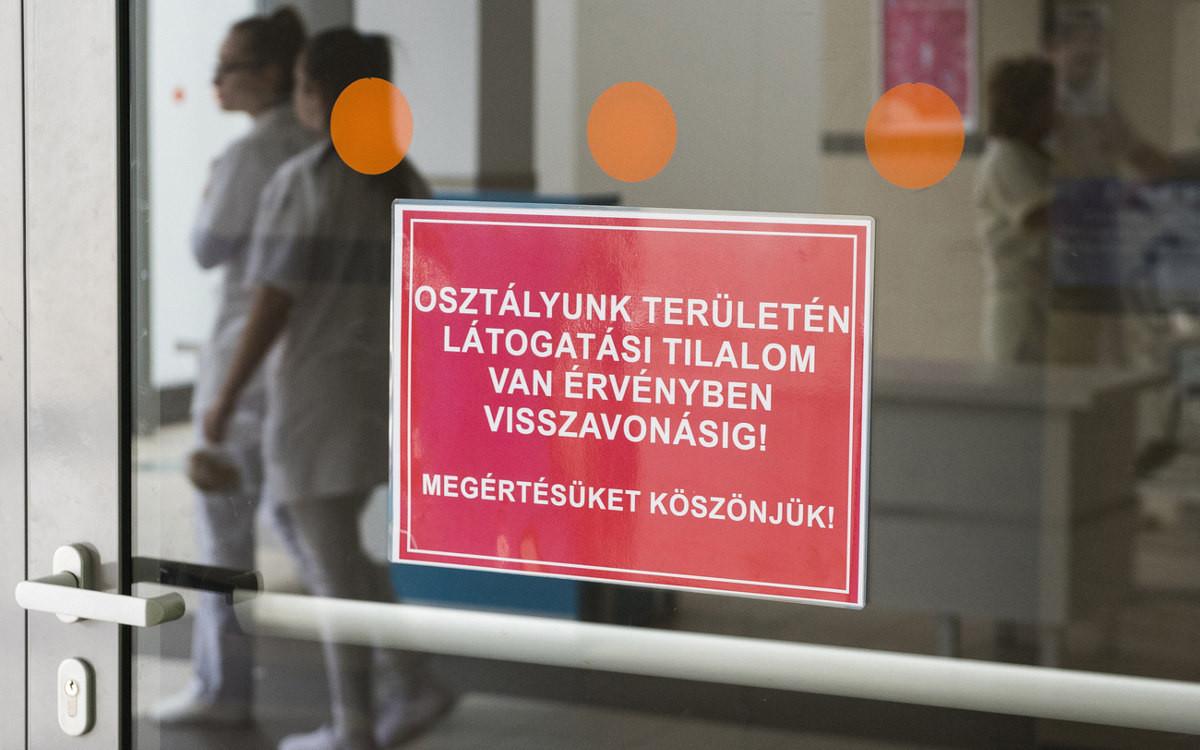 látogatási tilalom fotó balázs attila mti