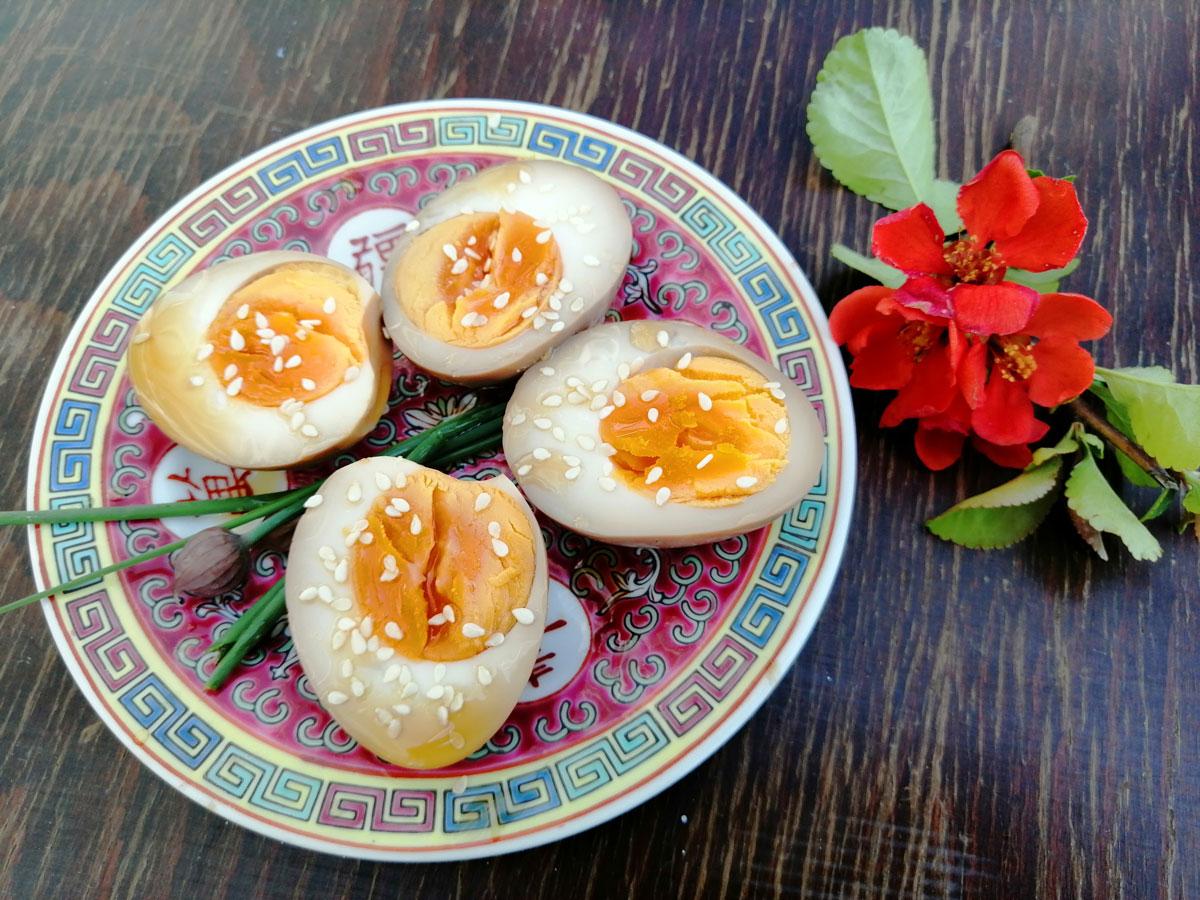 Ramen marinált tojás