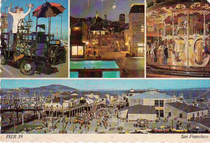 szeles comedy hypnotist postcard pier 39