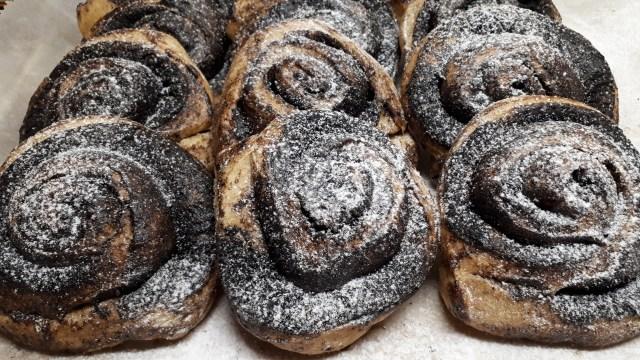 Dia Wellness kakaós csiga cukor nélkül, - 50 % szénhidrátcsökkentett lisztből