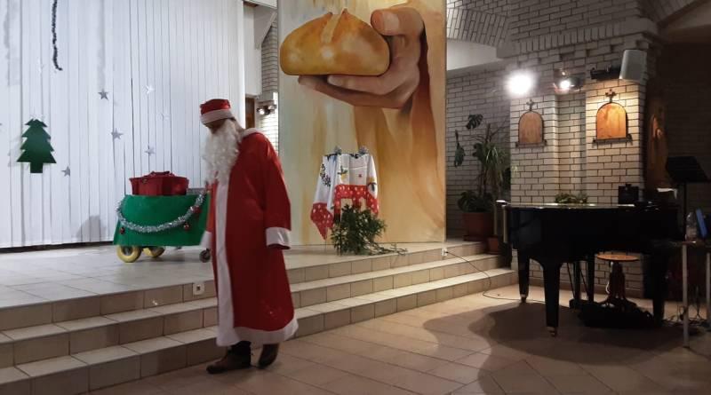 Mikulás a Szent Imrében