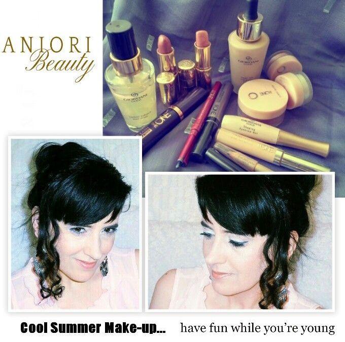 Oriflame nyári smink tipp -Giordani Gold és The One smink termékekkel