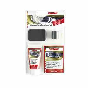 autóápolási termékek, Sonax Fényszóró felújító készlet