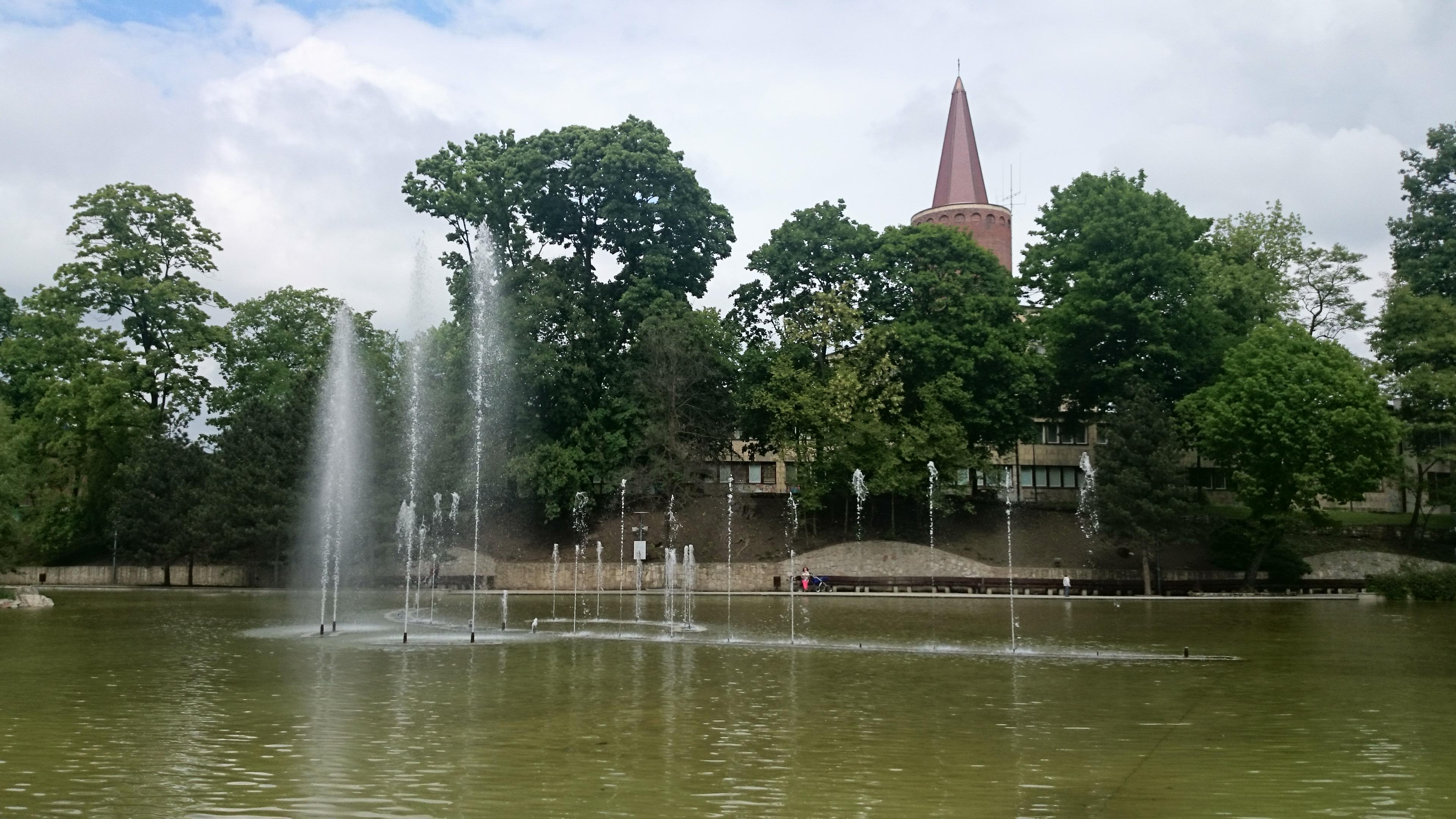 fontanna na Stawku Barlickiego