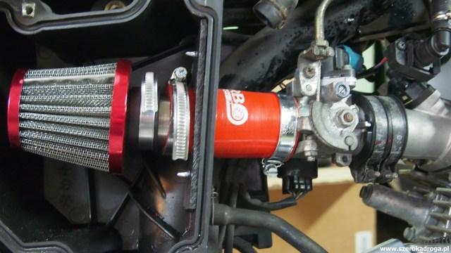 YBR 125 - filtr powietrza