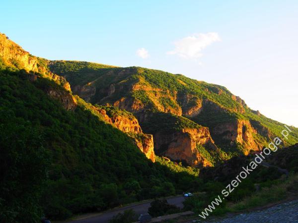 Gegardadzor, Armenia krajobraz