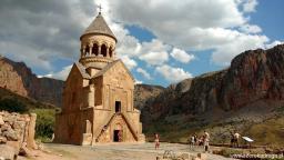 monastyry w Armenii, Norawank