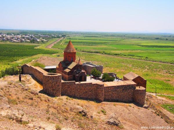 Khor Virap, monastyry w Armenii
