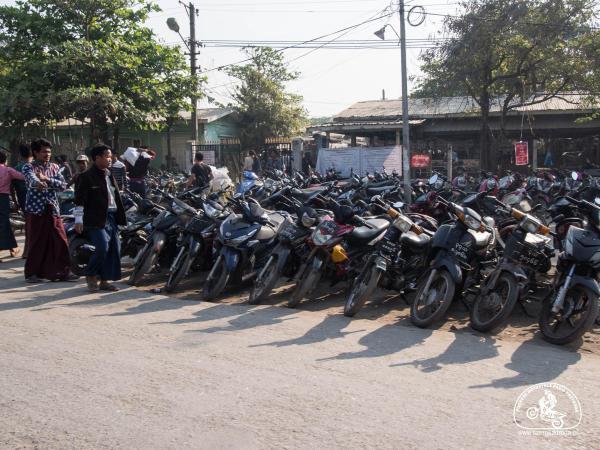 skutery w Azji