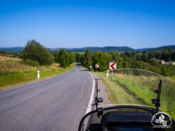 trasy motocyklowe Bieszczady