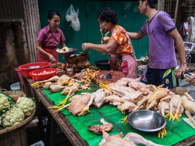 targi w azji, zakupy w Birmie