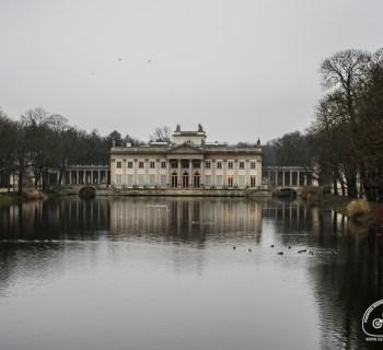 Pałac na wyspie Łazienki Królewskie