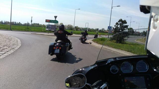 motocyklem po Opolu
