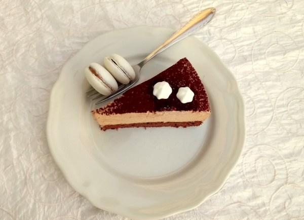 Lady Baileys mousse torta