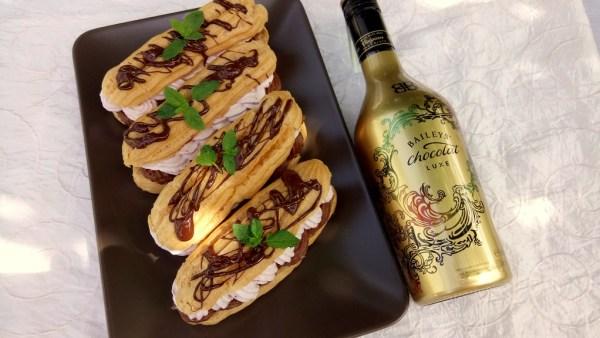 Eclair fánk Baileys Chocolat Luxe krémmel