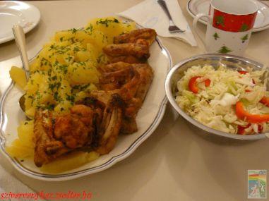 Dijoni mustáros csirkeszárnyak hmmm....