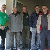 A Magyar Református Szeretetszolgálat Westkirchenben együtt szolgáló önkéntesei