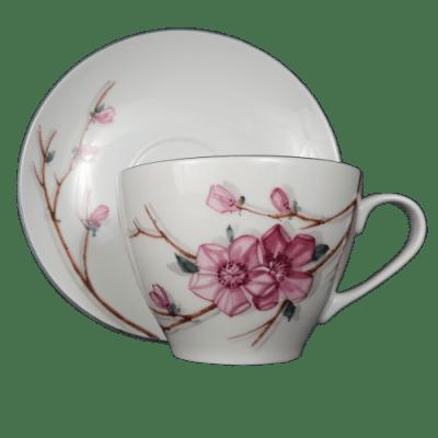 cseresznyevirág teás készlet