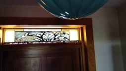 Cthulhu - witraż tradycyjny nad drzwiami wejściowymi