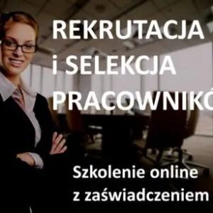 szkolenie online rekrutacja i selekcja pracowników