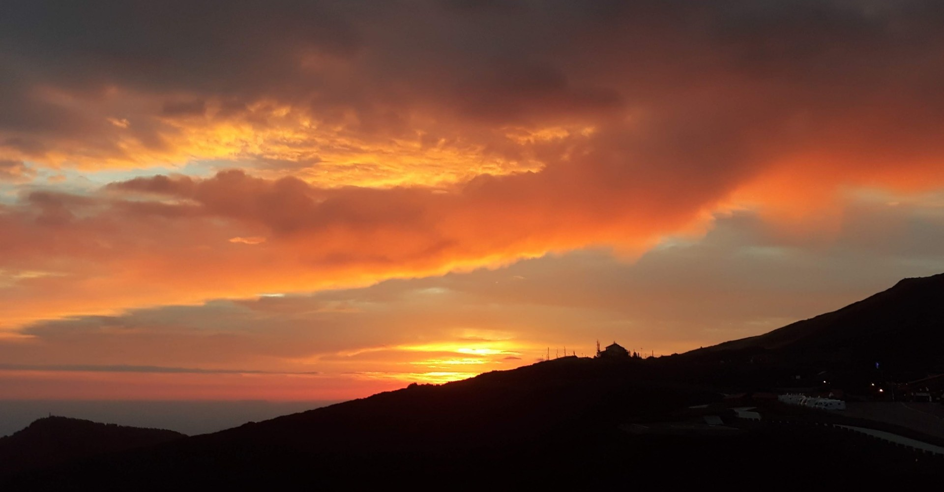 ETNA SUNSET WITH SICILIAN APERITIF