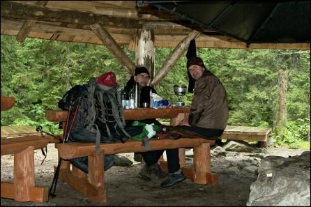Obiad na Polanie Pod Wysoką