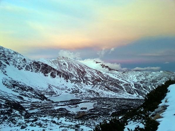 Świt na przełęczy Karb
