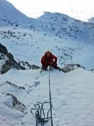 wyjście na pole śnieżne pod stanowiskiem nr 2