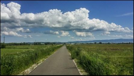 Droga rowerowa w Kotlinie Orawskiej