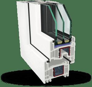 Пластиковое окно Gealan S8000