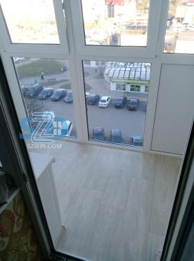 Отделка балкона с отделкой в г.Балтийске
