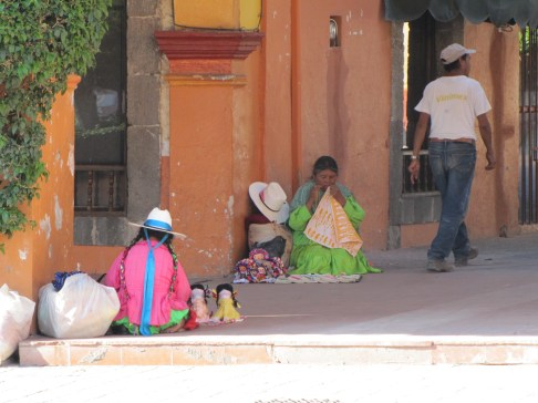 Meksykanki podczas pracy, fot. J.Olvera
