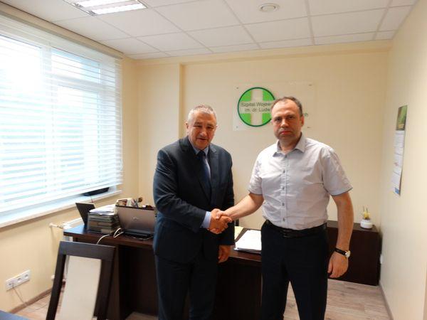 Długoletnia współpraca Szpitala im. dr. Ludwika Rydygiera w Suwałkach ze Szpitalami z Białorusi