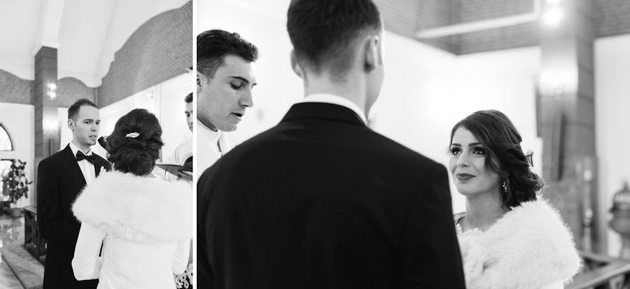 zimowy ślub, fotografia ślubna