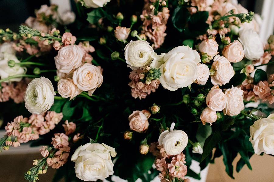 dekoracja kwiaty na ślub