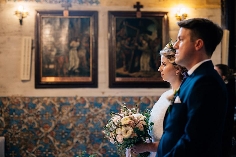 ślub w kościele św. Jakuba w Szczyrku