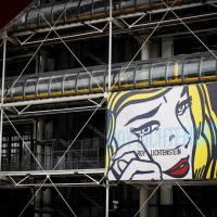 Wystawa Roy'a Lichtenstein'a w Centre Pompidou