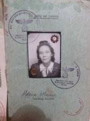 Ausweiss babci wojna
