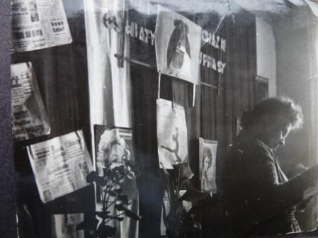Babcia w Domu Gornika lata 60-te
