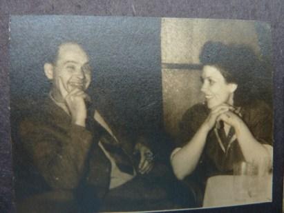 Babcia z dziadkiem po wojnie