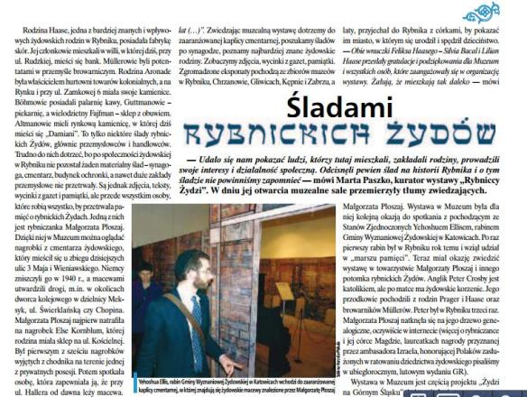 Gazeta Rybnicka February 2012