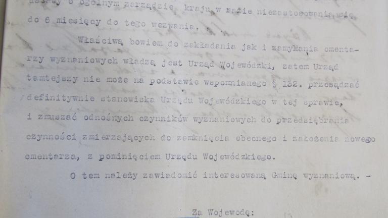 pismo Wojewody