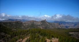 widok z Pico de Las Nieves