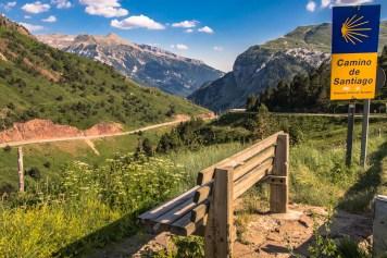 Camino de Santiago Pireneje