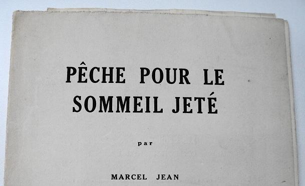 Marcel Jean and the Culture of Booklets (2/5)
