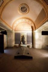 Beleuchtetes Mausoleum