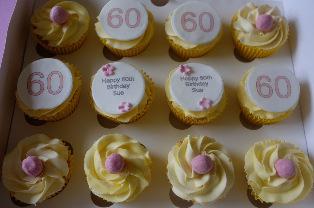 60th Birthday Cupcakes Tracy S T Cakes