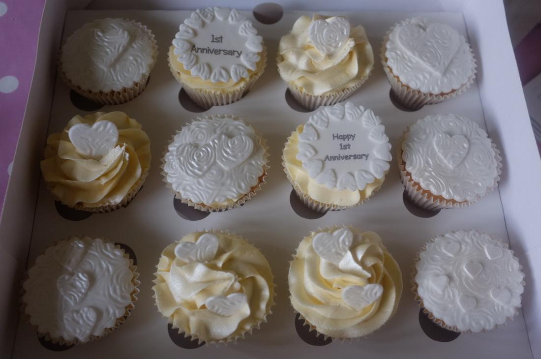 Anniversary Cupcakes Tracys T Cakes